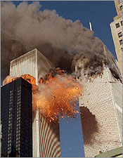world trade center attack 9/11/01